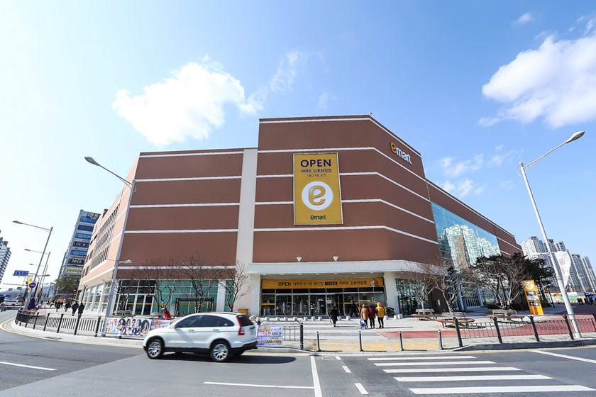 An Emart outlet in South Korea. Photo courtesy of Emart