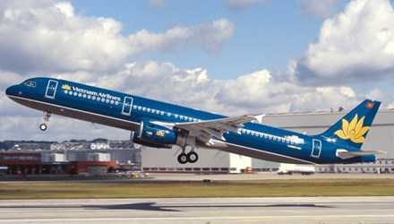 A Vietnam Airlines aircraft. File photo