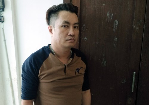 Nguyen Ba Huy has been arrested for running a sex business in Ho Chi Minh City. Photo: Ngoc Tho