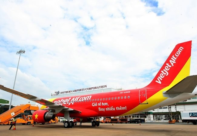 A Vietjet Air plane. Photo credit: Tuoi Tre