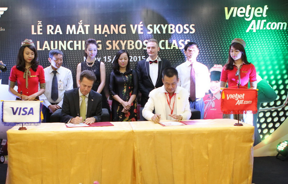 Vietjet launched Skyboss class & opportunities for free trip to Europe