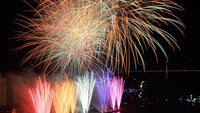A performance during Da Nang International Fireworks Competition 2012. File photo
