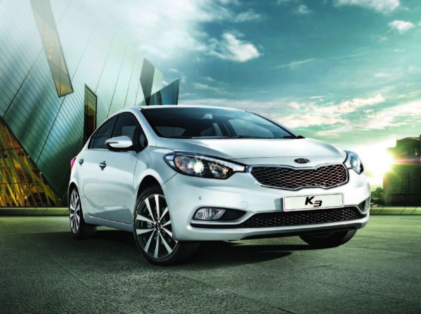 New version of Kia K3 only costs US$29,200