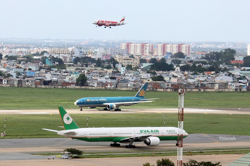 Aircraft at Tan Son Nhat Airport, Ho Chi Minh City. File photo