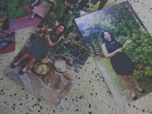 Photos of the woman taken in Malaysia. Photo: Duong Phan