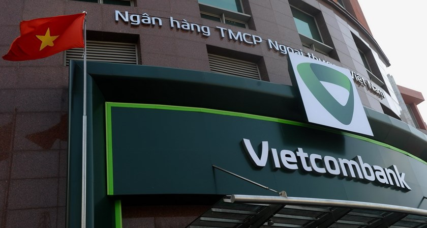 Vietcombank's headquarter in Hanoi. Photo: AFP
