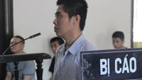 Tran Kim Dung at a trial in Nghe An May 14, 2015 for trying to rape a little girl while drunk. Photo credit: Dan Tri