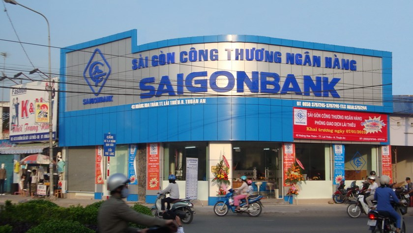 Saigon Bank's office in Ho Chi Minh City. File photo
