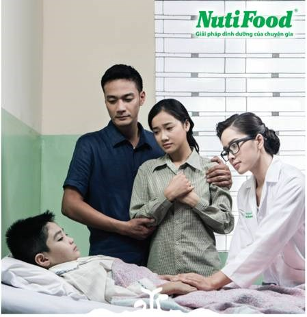 NutiFood – seeing life through the hearts of fathers' and mothers