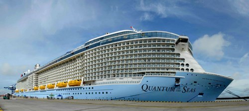 US luxury cruise ship berths in Vung Tau
