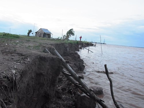 Mekong Delta is losing thousands of acres of land to erosion