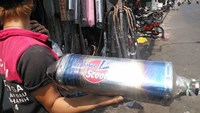 One of the exhaust pipes that can make some motorbikes annoyingly noisy in Ho Chi Minh City. Photo credit: Tuoi Tre