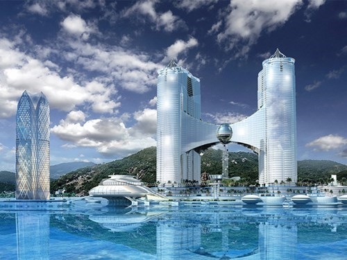 The planned property mix Phoenix in Nha Trang. File photo
