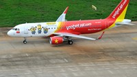 Minions on Vietjet aircraft.