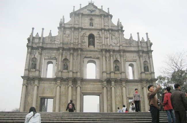 Ruins of St. Paul - a tourist attraction in Macau. Photo credit: Saigon Times Online