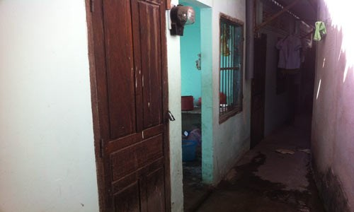 The woman's rent room in Phan Thiet Town, Binh Thuan Province. Photo credit: VietNamNet