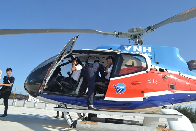Uber offers helicopter rides for tourism in Vietnam
