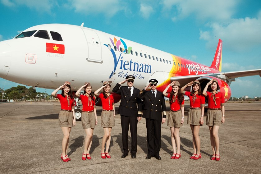 Vietjet will hold interviews for cabin crew recruitment on September 8 in Hanoi and October 1 in HCMC