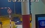 Video shows car crashing into toll station, flipping over on Vietnam highway