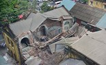 Hanoi colonial house collapses; one dead, many still trapped in rubble