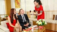 Vietjet to give VISA cards holders' exclusive discount  when flying SkyBOSS