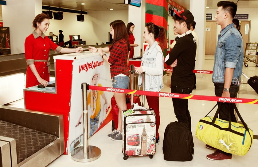 Vietjet to give away 500,000 tickets from zero dong on all routes