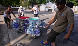 Surgeries have to wait as Hanoi water pipeline rupture leaves hospitals high and dry
