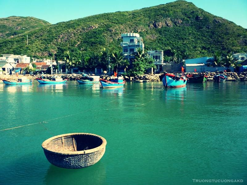 The crystal clear sea water is one of the beauties of the scenic town Quy Nhon in central Vietnam. Photo credit: toidi.net