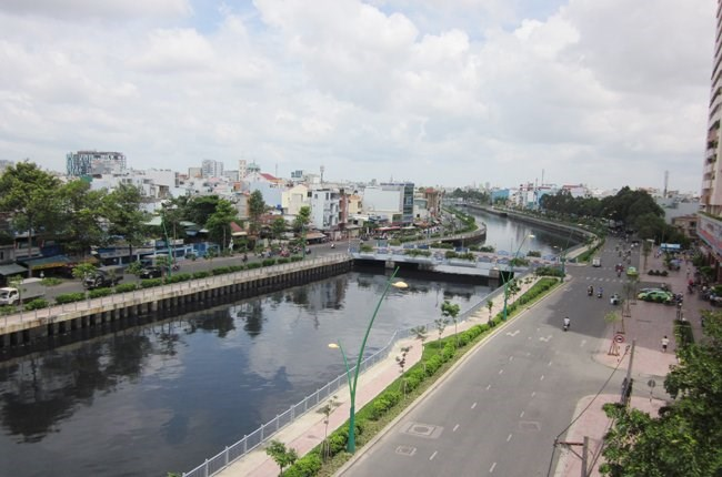 The Nhieu Loc-Thi Nghe Canal has been cleaned up. Photo: Anh Quan/TBKTSG