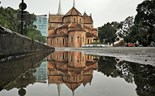 The perfect reflections of Ho Chi Minh City