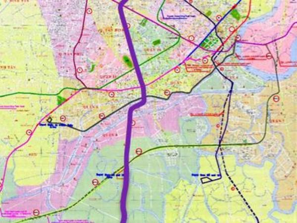 The fifth metro line (purple) is pending investment approval
