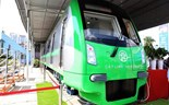 First look at Hanoi's elevated railway train