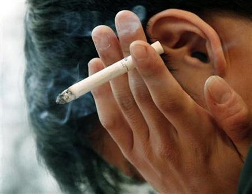 Smoking among young people is a risk factor calculated in the Bloomberg rankings. Photo credit: Reuters