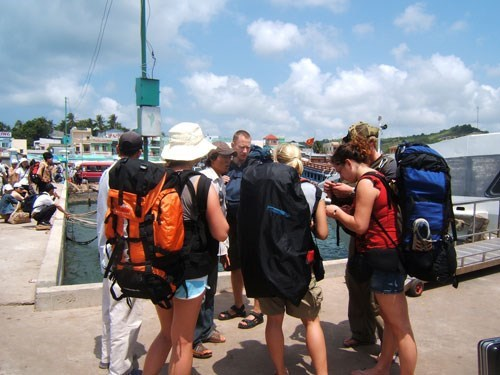Foreigners account for 30 percent of visitors to Phu Quoc this year. Photo: Quang Minh Nhat