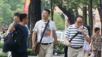 Chinese tourists in Ho Chi Minh City. Photo: Dao Loan/TBKTSG