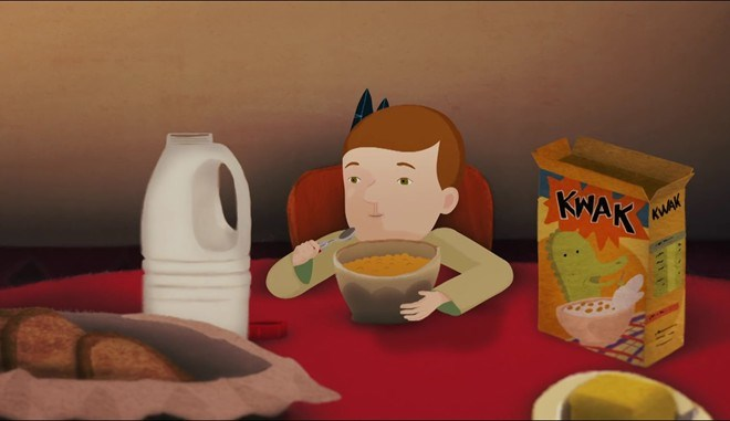 "A scene from Nguyen Phuong Mai's animated short ""My Home."""