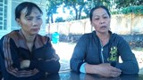 """The boy's mother (L) calls his death """"abnormal"""" and demands an investigation. Photo: Mnh Quy/Zing"""