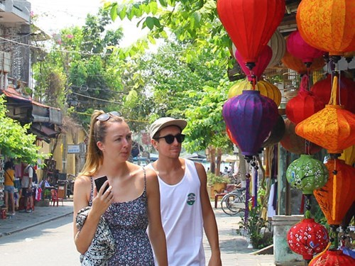 Hoi An has become a popular destination for foreign tourists in Vietnam. Photo: Hua Xuyen Huynh