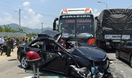 65 dead in accidents during New Year weekend
