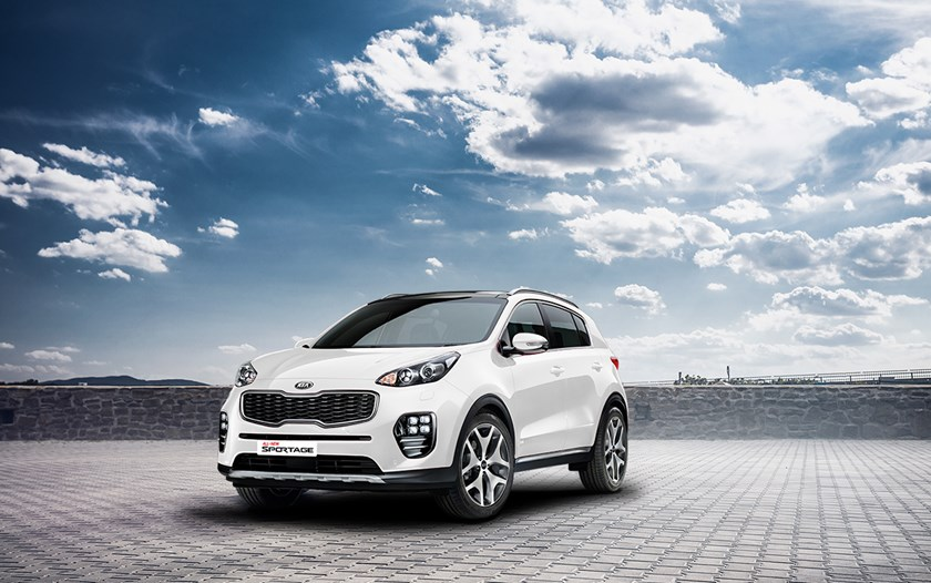 Kia's success in 2015 came from strong sales of various models including the all new Sportage.