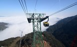 All the way to Vietnam's highest mountain on new cable cars