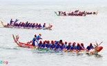 Vietnamese islanders celebrate Lunar New Year with colorful boat race