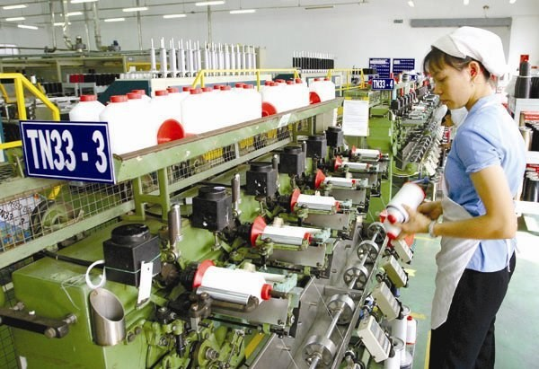 Textile and garment firms in Vietnam have exported $2 billion worth of products in January 2015. Photo: Minh Khue/SaigonTimes