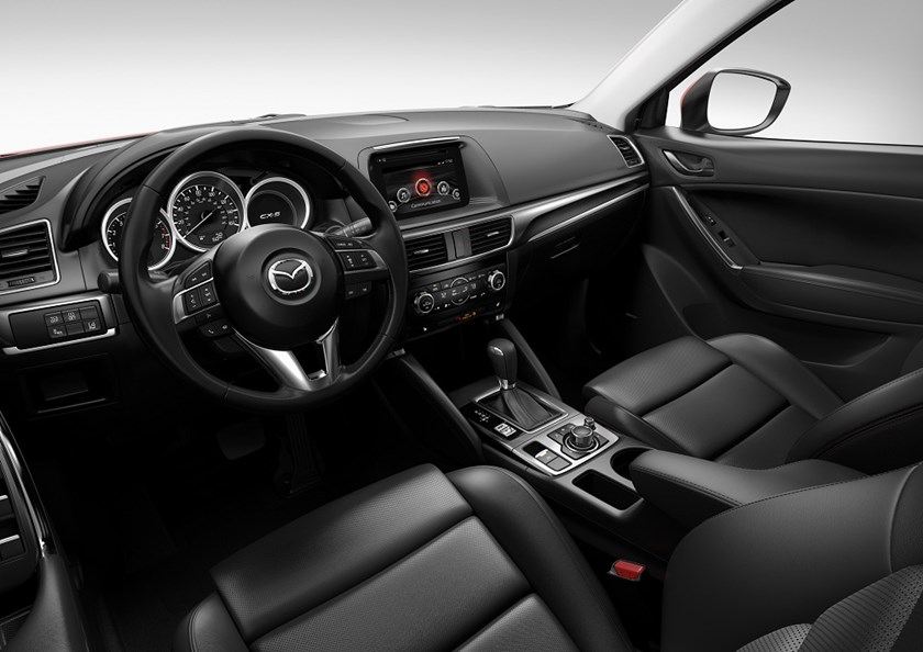 The new Mazda CX-5 offers impressive refinements in exterior and interior features.