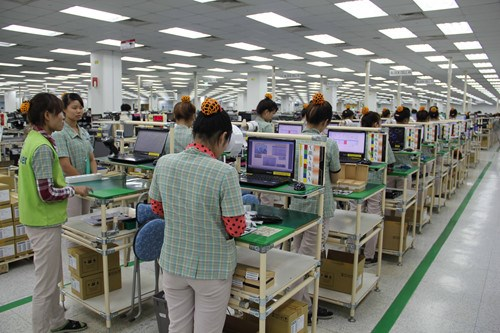 A Samsung Electronics plant in Bac Ninh Province, which is among the top FDI receivers in Vietnam. Photo: Ngoc Son