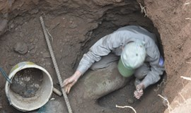 Massive wartime bomb found in central Vietnam, removed safely