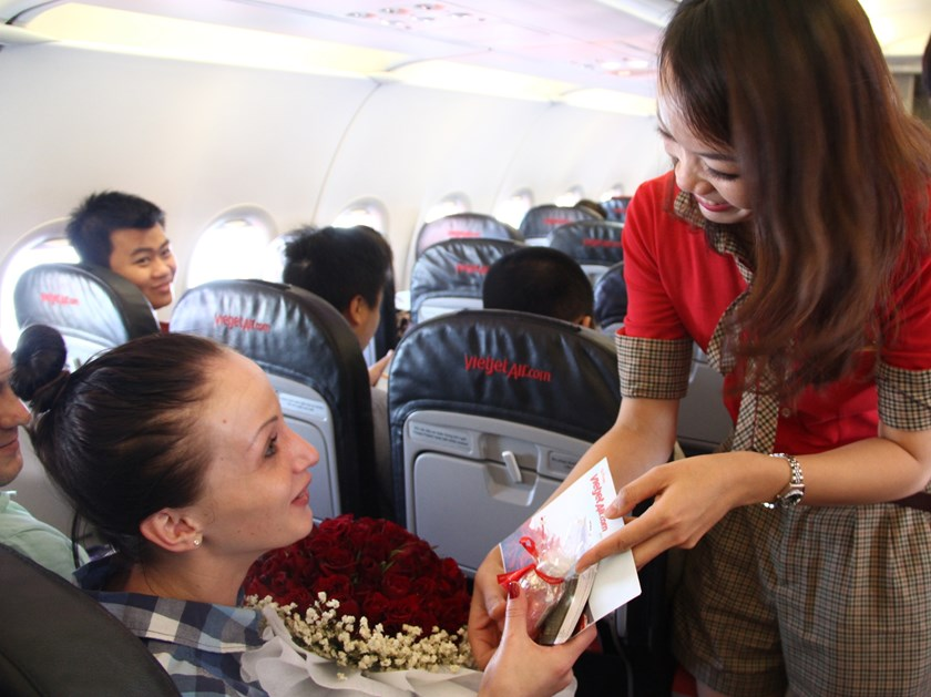 Love for all Vietjet's female passengers