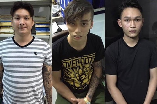 Three suspects have been arrested for attacking three Singaporeans in Ho Chi Minh City on February 27, 2016. Photo: Ma Phong