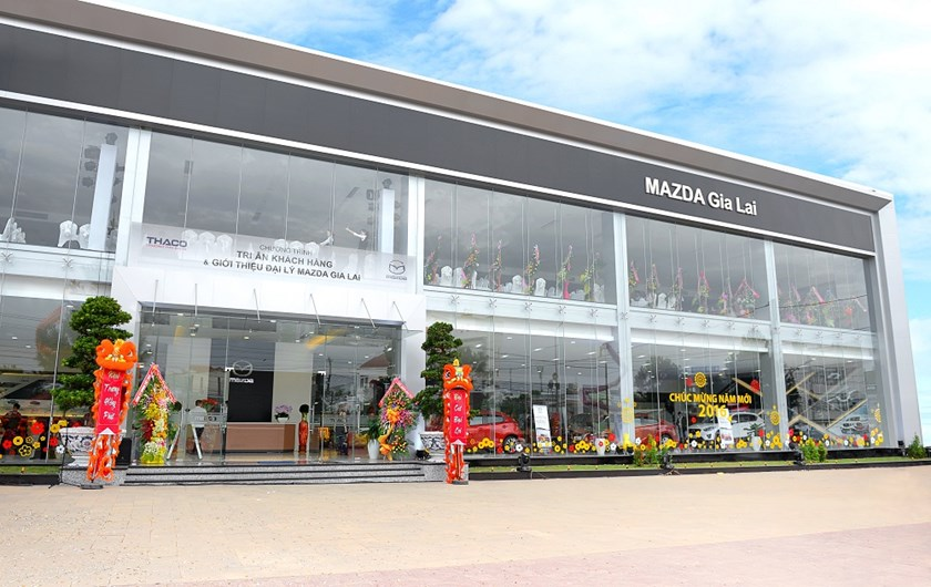 Thaco opens Mazda showroom in central Vietnam
