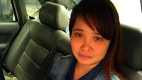 Hoang Thi Hieu, 28, has escaped from human traffickers in China. Photo: Vo Tra Giang/Thanh Nien